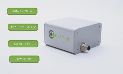 Cepton发布了新款Vista LiDAR传感器