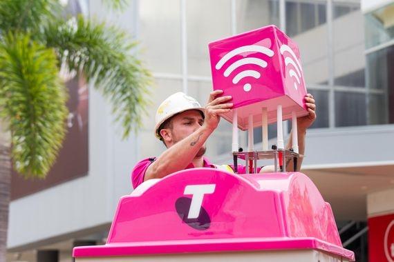 澳大利亚建全球首个5G网络热点:只有4G速度