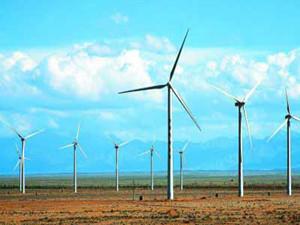 中国能建40.9兆瓦广西马山风电场正式投产