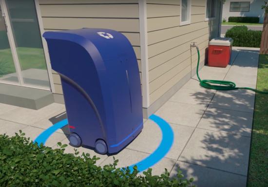 无人驾驶正火,自动驾驶垃圾箱已来