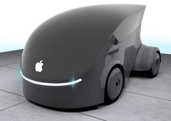 苹果自动驾驶汽车专利曝光:结合VR,没有车窗