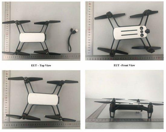 传小蚁即将推出首款无人机 外形性能曝光