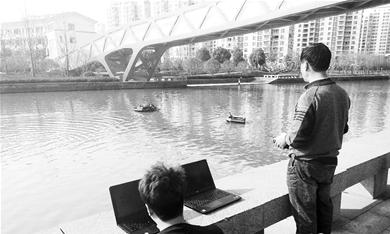 水质监测再添利器 无人船弥补传统监测短板
