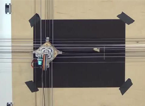 MIT博士研发绘画机器人 精通绘画和激光切割