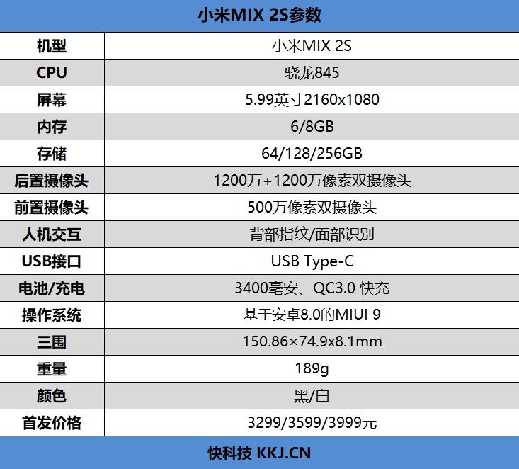 无刘海真全面屏!小米MIX 2S评测:拍照最好的小米手机