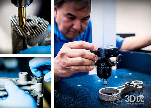 金属3D打印加速发动机零件的产品开发