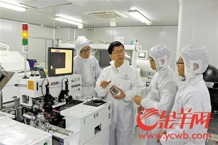 产学研深度融合 汤勇激活广东LED产业掌握核心技术