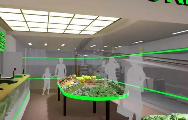 国外一家地下农场用LED产生的热能为楼上的办公室供热