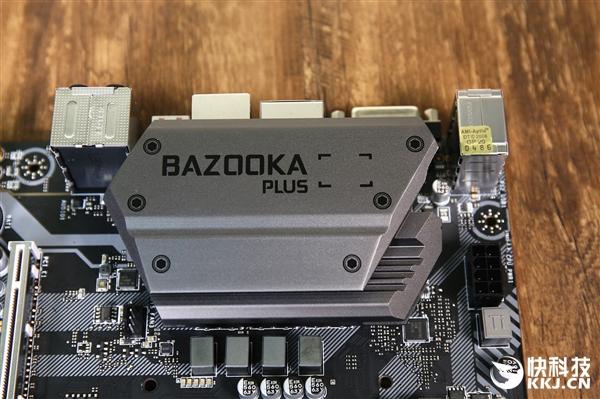 火箭筒加强板!微星主板B360M BAZOOKA PLUS开箱图赏