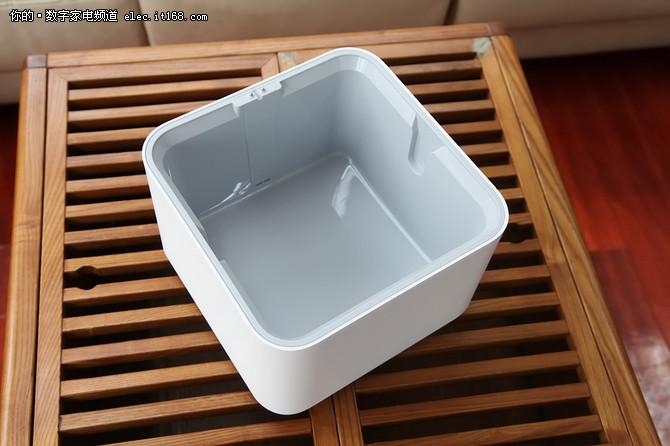 智能操控蒸发无白粉 智米纯净型加湿器体验
