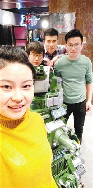 用3D打印打造中国风机甲