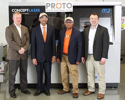 Columbus在俄勒冈州立大学安装两台GE Additive Metal 金属3D打印机