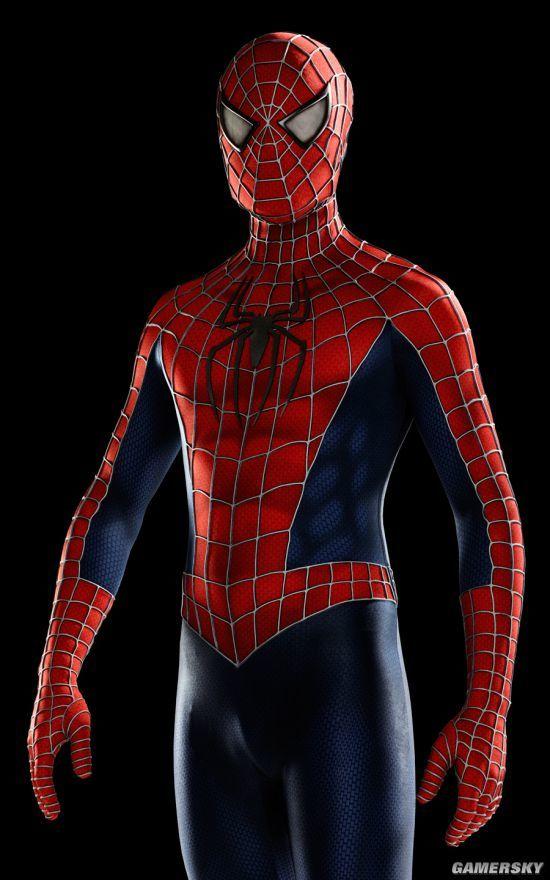自制蜘蛛侠头套 14年苦心研发全身战衣更亮眼