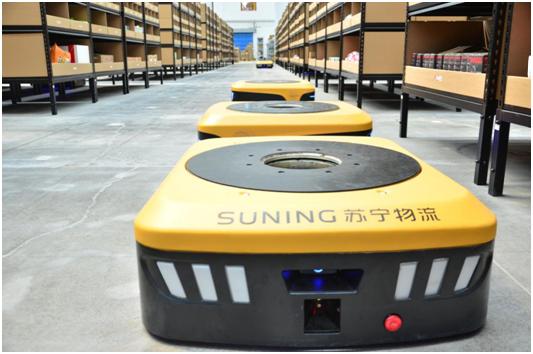 苏宁建济南机器人仓 全国最大机器人仓储网逐步成形