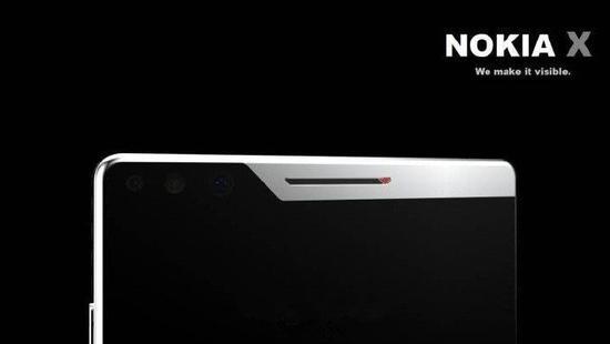 Nokia X渲染图曝光:这设计你确定不了解一下?