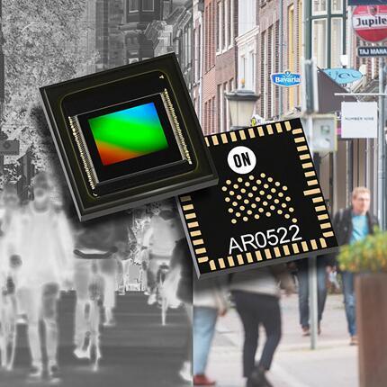 安森美推出首款近红外增强型高分辨率CMOS图像传感器