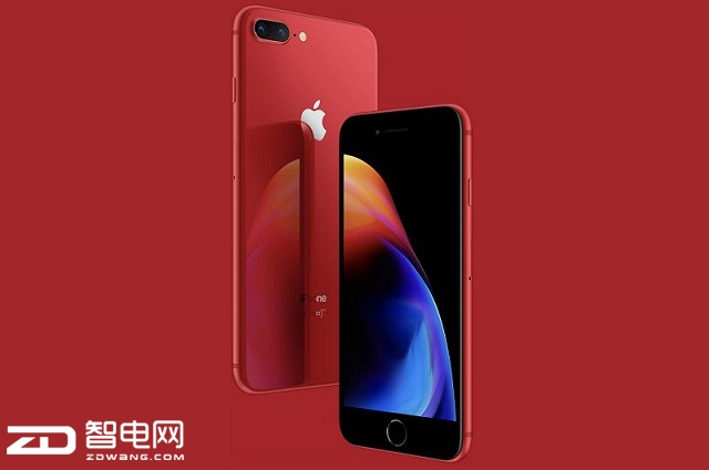 乘胜追击 苹果再推红色定制版iPhone 8