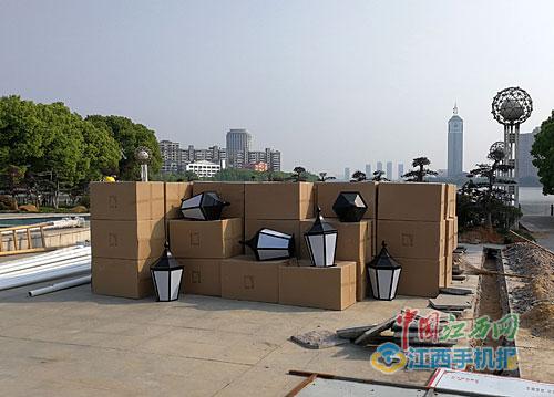 """南昌市积极推进青山湖风景区路灯照明""""暗改亮""""提升工程"""