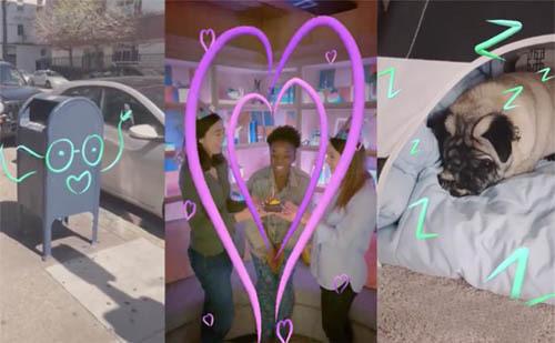 Facebook推出新款AR涂鸦工具,可让用户在视频中实时涂鸦