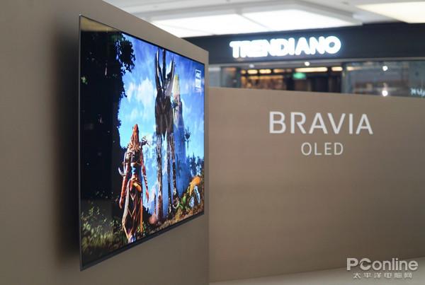 来自大法的OLED核弹 索尼A8F OLED电视详解