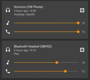 Android P强力优化蓝牙耳机:自动记忆多设备音量