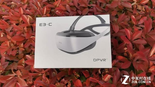 大朋VR E3C VR头盔评测:你的专属家庭巨幕影院