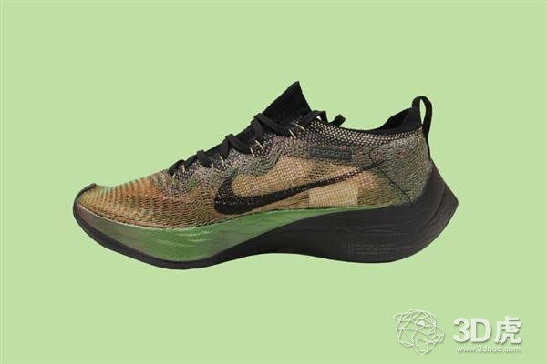 Nike推3D打印运动鞋Zoom Vaporfly Elite Flyprint