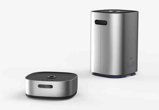 """全新""""AIRBOT""""问世 它是全球首个空气净化机器人"""