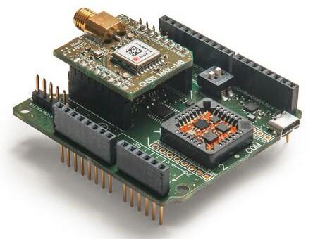 Xsens全新微型INS模块搭配外部GNSS接收器输入数据