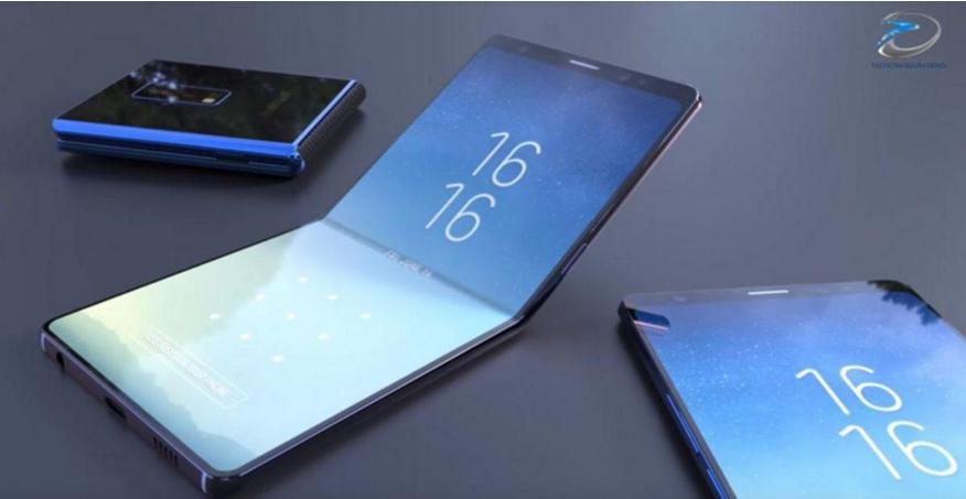 三星申请折叠平板电脑专利 挑战苹果iPad