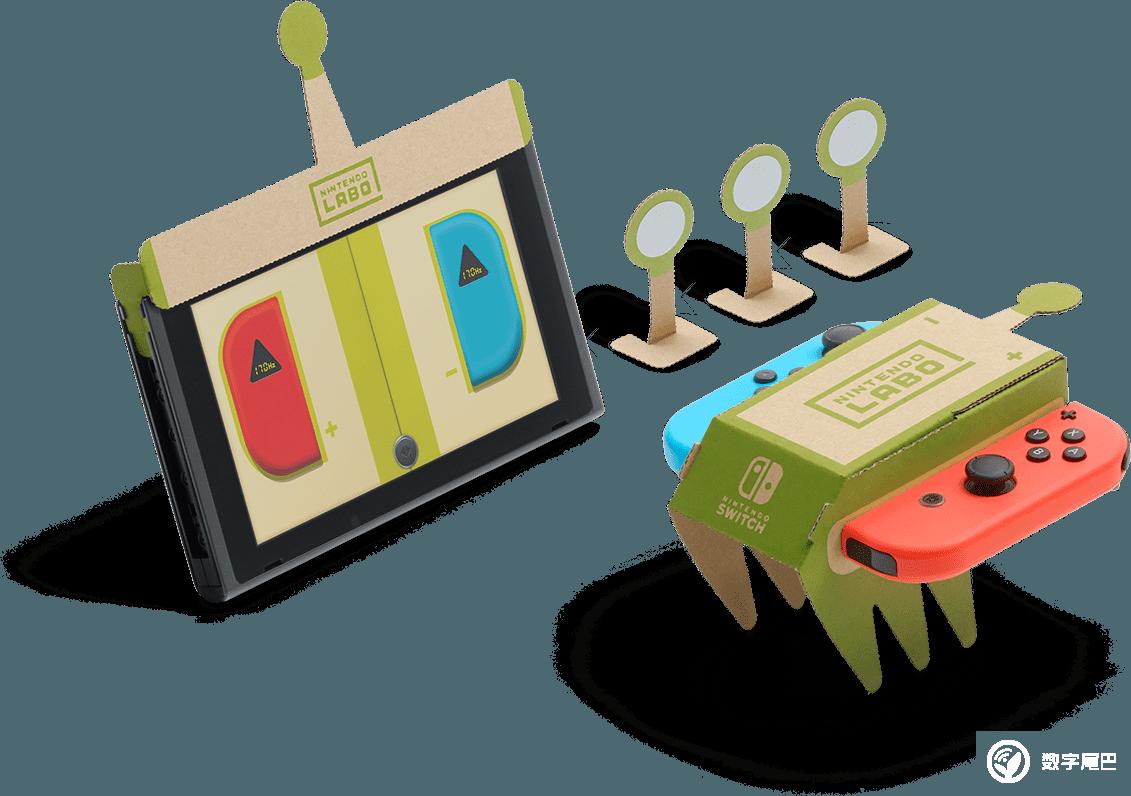 """纸板""""玩""""出新花样,任天堂Labo将于4月20日正式发售"""