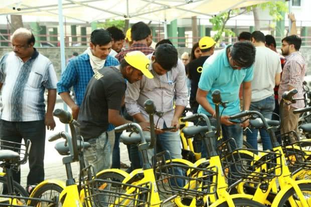 ofo占领印度共享单车市场 Q1订单量破110万