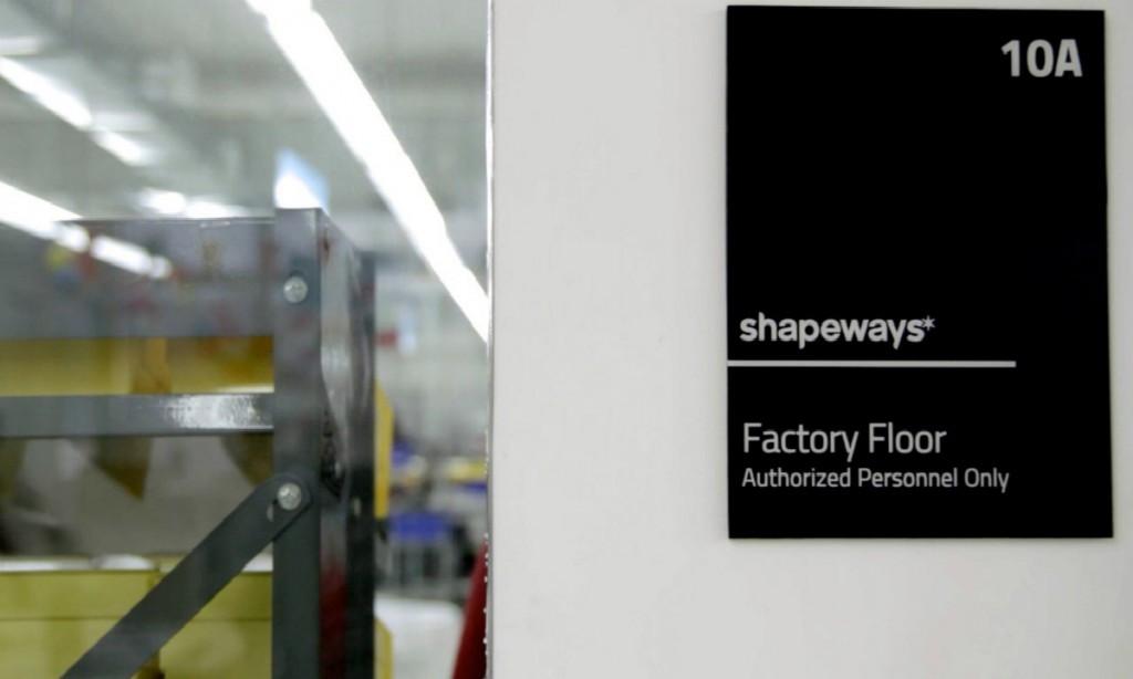 3D打印在线商城Shapeways完成3000万美元E轮融资