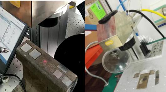 激光:激光清洗 利用光纤激光器清除铁轨表面的锈蚀层