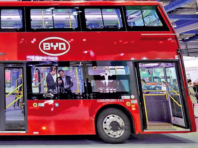 瞄准印度市场 比亚迪计划两年内在印实现电动巴士零部件50%本土化
