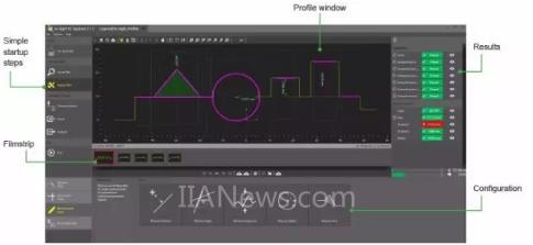 传感器:In-Sight激光轮廓仪:简单4步 完成设置与部署