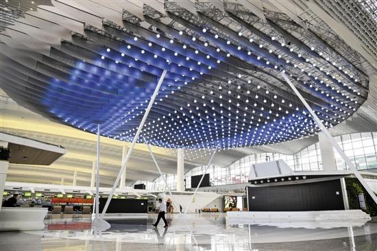 启用在即!白云机场T2航站楼有什么高科技亮点?