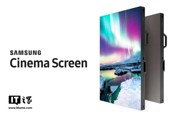 三星4K LED影院屏正式命名Onyx:可在非黑暗环境看电影