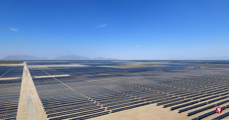 斥资6亿5000万美元 墨西哥建沙漠太阳能发电园