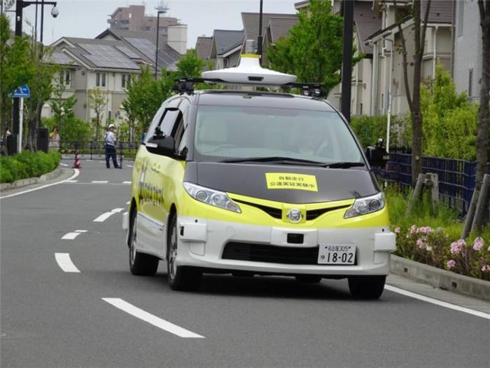 日本大和运输与DeNA测试无人驾驶配送服务