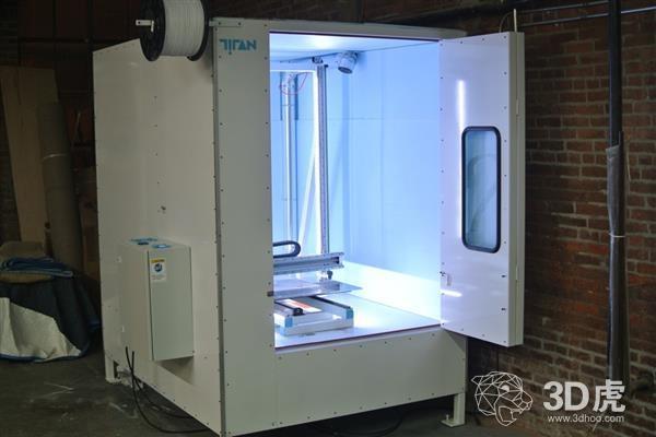 Titan Robotics推出升级版的Atlas 3D打印机