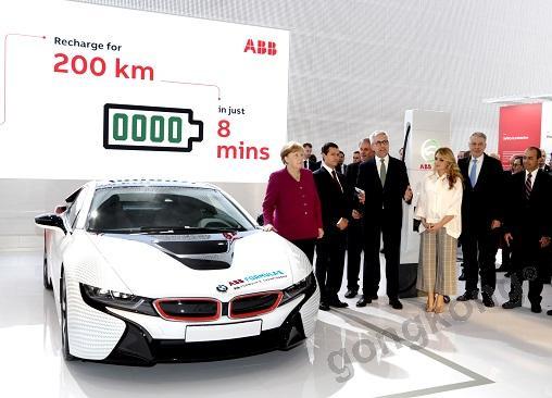 ABB参展汉诺威工业博览会:发布最新款电动汽车充电解决方案