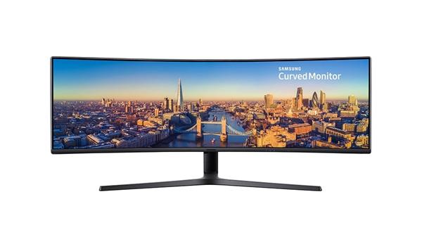 49寸32:9影院级享受 三星发布超宽曲面显示器C49J89