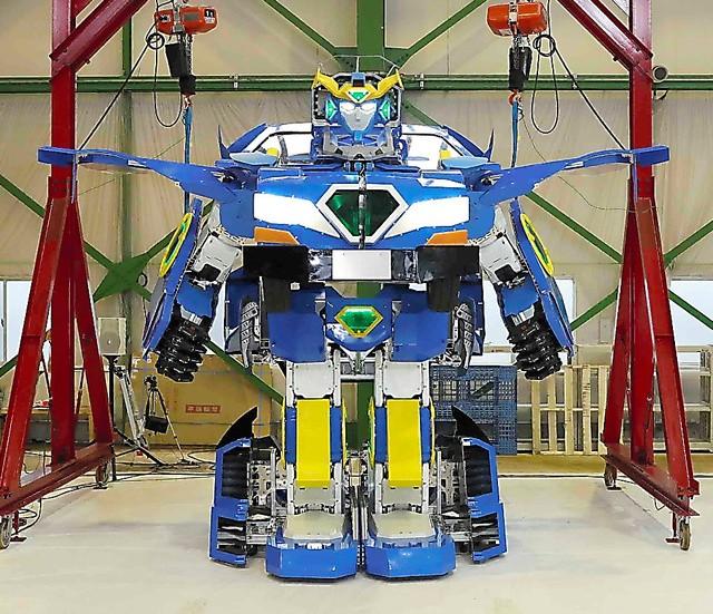 神了! 软银汽车一分钟变金刚机器人