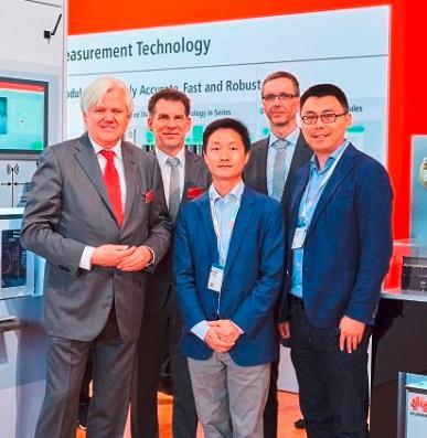 华为与倍福在汉诺威工博会演示无线PLC用5G技术