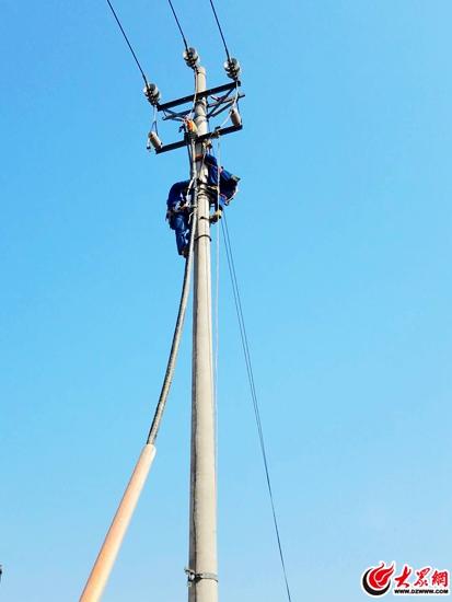 34年单电源成历史 日照河山、两城供电站用上双电源