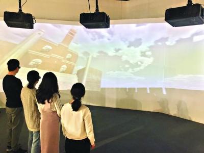 辛亥革命重现 来辛亥革命博物馆看大学生VR设计展