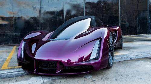 充满未来感与现实感的3D打印超级轿跑
