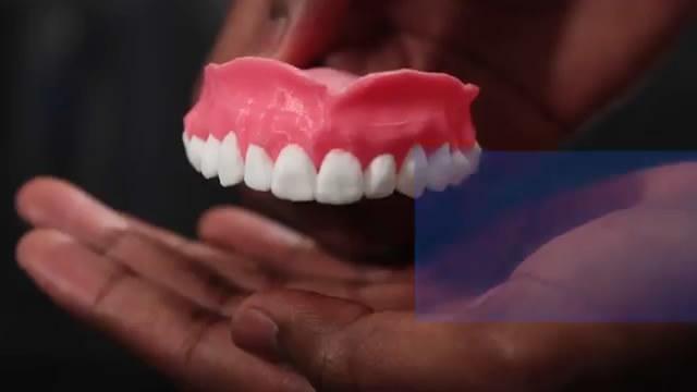 3D打印智能假牙 能缓释药物防止口腔感染