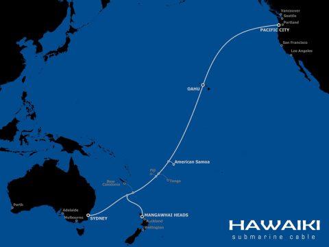 哈瓦基海底光缆系统登陆美属萨摩亚群岛